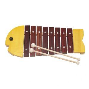 Fish xylophone bornelund